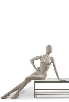 C9 Female, Reclining Mannequin