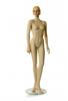 C1 with AN12 Head - Female, Standing Mannequin Body