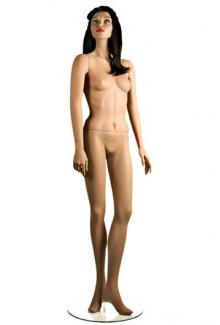"African American Black Mannequin C11 with ""Che"" head - Female High End Expensive Mannequins"