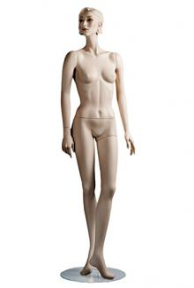 "C11 with ""Leslie S"" head - Female, Standing Mannequin Body"