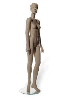 C11 with Saika S Two head - Female, Standing Mannequin Body
