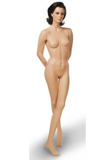 "Realistic Female Mannequin High Quality C2 with ""Susan"" head - Female, Standing Mannequin Body"