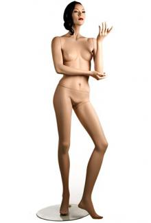 """C3 with """"Leslie"""" head - Female, Standing Mannequin Body"""