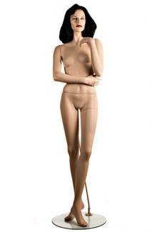 """C4 with """"Pola"""" head - Female, Standing Mannequin Body"""