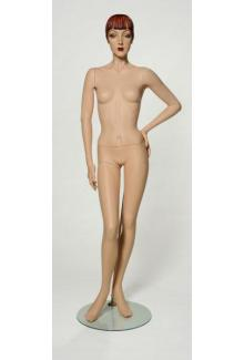 "Vintage Female Ladies Display Mannequin for sale C5 with ""Roxy"" Head - Female, Standing Mannequin Body"