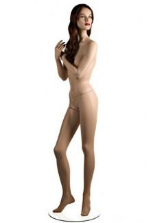 "Mannequins for sale C6 with ""Tess"" head - Female, Standing Mannequin Body"