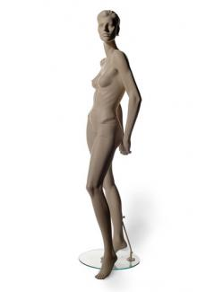 HC7 with Taylor S Two head - Female, Standing Mannequin Body