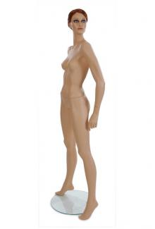 Realistic Female Mannequins near me ND8 with Jeri Head - Female, Standing Mannequin Body