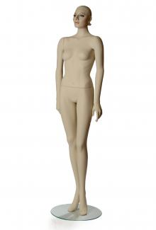 WT1.5 with Saiki Head - Female, Standing Mannequin Body
