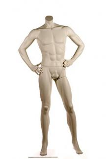 PRI1 Headless - Male, Standing Mannequin Body