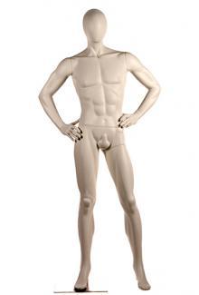 Mannequin Manufacturer Decter Men's PRI1 - Male, Standing Mannequin Body
