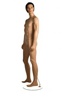 PRI5 with JR head - Male, Standing Mannequin Body