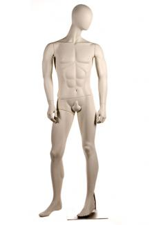 Abstract Egg Head Male Mannequins for sale PRI5 - Male, Standing Mannequin Body