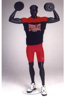 Weightlifter mannequin - Male, Standing Mannequin Body