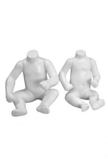 12 Month and Nine Month Baby Mannequin Forms