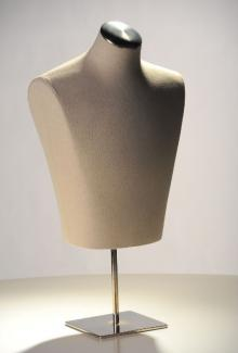 Natural Twill 3/4 Form - Male, Mannequin Form