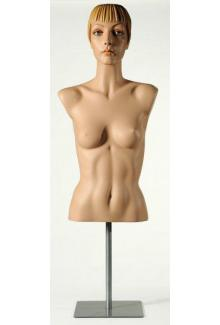 "1079 with ""Roxy"" Head - Female, Blouse Mannequin Form"