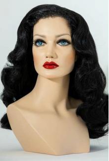 Charlotte - Female,  Mannequin Head