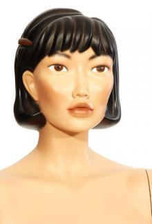 Helen - Female,  Mannequin Head