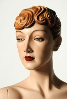 """Isadora"" - Female, Mannequin Head"