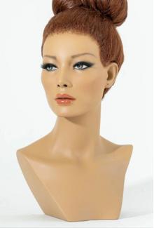 Kinsley - Female,  Mannequin Head