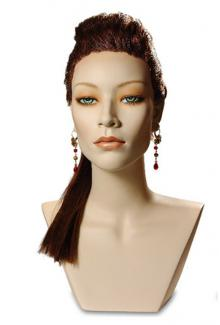 Leslie Cameo - Female,  Mannequin Head