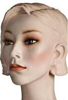 """Lorna S"" - Female, Mannequin Head with Make-up"
