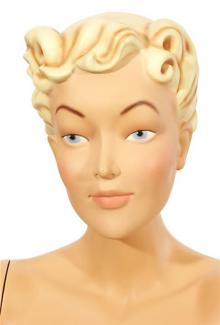 Mary Blond - Female,  Mannequin Head