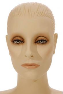 "Mary SF Shown with ""Nocturne"" make-up - Female,  Mannequin Heads"