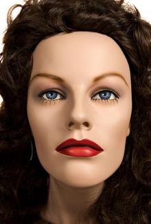 """Pola"" - Female, Mannequin Head"