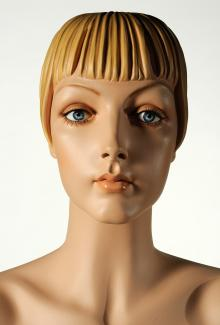 """Roxy Blonde"" - Female, Mannequin Head"