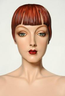 """Roxy"" - Female, Mannequin Head"