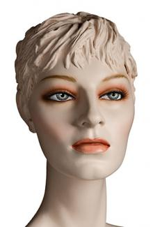 """Saika S"" - Female, Mannequin Head with Make-up"