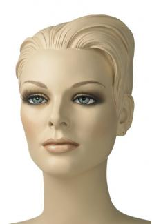"""Susan S"" - Female, Mannequin Head with Make-up"