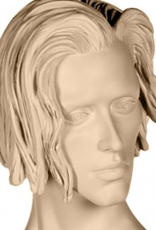 Jeremy S - Mannequin Head, Male