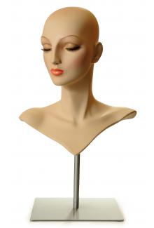 AN13 - Female, Mannequin Wig Display Head