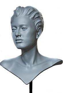 DMJ84 Saika SN - Female,  Mannequin Head