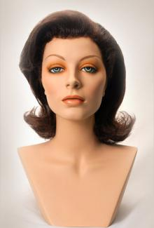 Style 1100 Color Brunette - Female,  Mannequin Head