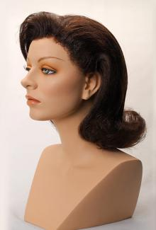 Style 1100 (side view) - Female,  Mannequin Head