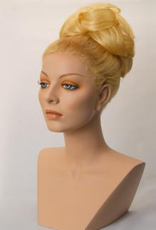 Style 1200 Color Bright Blonde - Female,  Mannequin Head