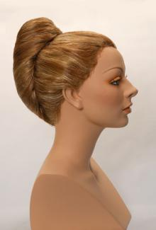 Style 1500 Color Dark Blonde - Female,  Mannequin Head
