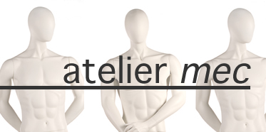 Abstract male mannequins for sale: Atelier Mec from The Vaudeville Mannequin Company