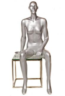 KOR05/360 - Female, Seated Mannequin Body