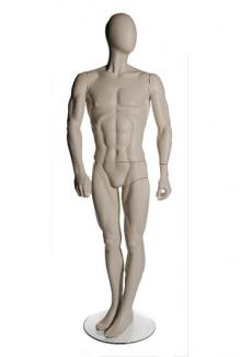 M150 - Male, Standing Mannequin Body