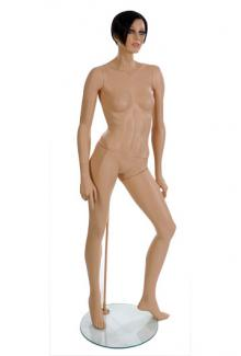 Realistic Female Designer Mannequin from Vaudeville Mannequins ND6 with Jill Head - Female, Standing Mannequin Body