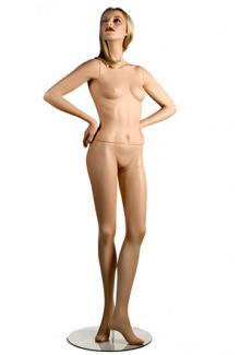 "Exclusive Macy's mannequin C1 with ""Pola"" head - Female, Standing Mannequin Body"