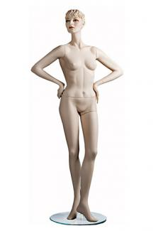 "C1 with ""Saika S"" Head - Female, Standing Mannequin Body"