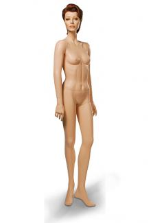 "Greneker Mannequins Wolf and Vine C11 with ""Lorna"" head - Female, Standing Mannequin Body"