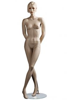 "C2 with ""Lorna S"" head - Female, Standing Mannequin Body"