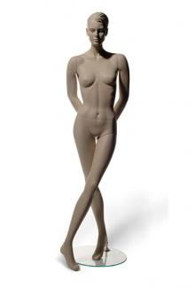 C2 with Susan S Two head - Female, Standing Mannequin Body